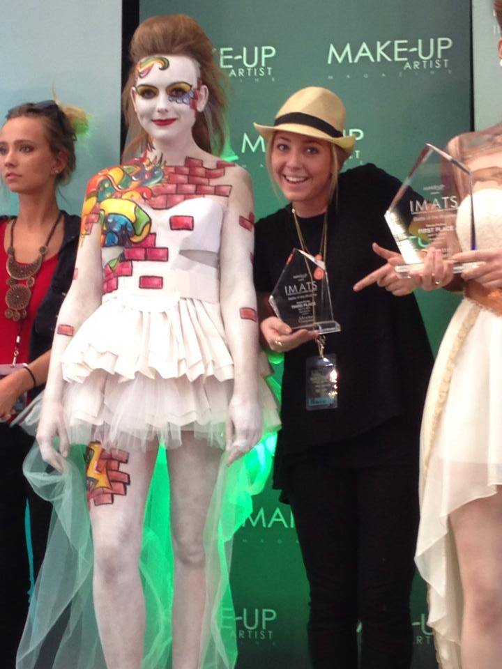 Elizabeth Anne Romano Comes Third at IMATS